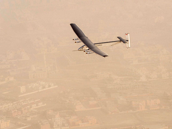 Gujarat welcomes solar powered aircraft