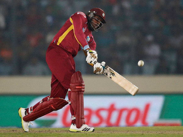 Chris Gayle hit World Cup's first double century