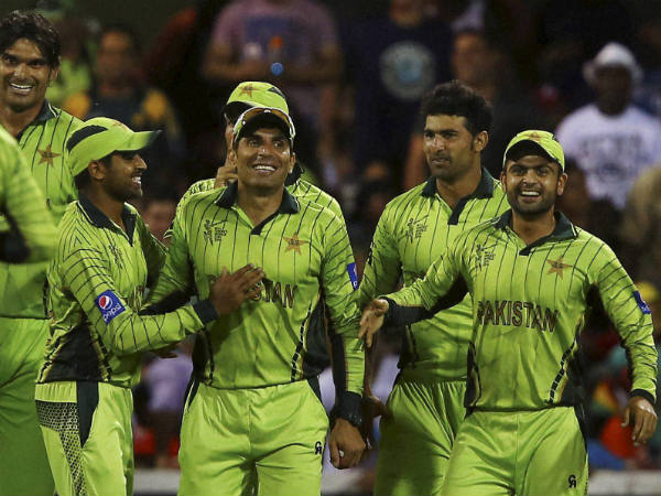 File photo of Pakistan team who enters the quarter-finals by defeating Ireland in ICC World Cup 2015