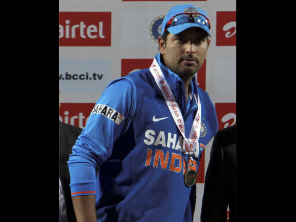 File picture of Yuvraj Singh