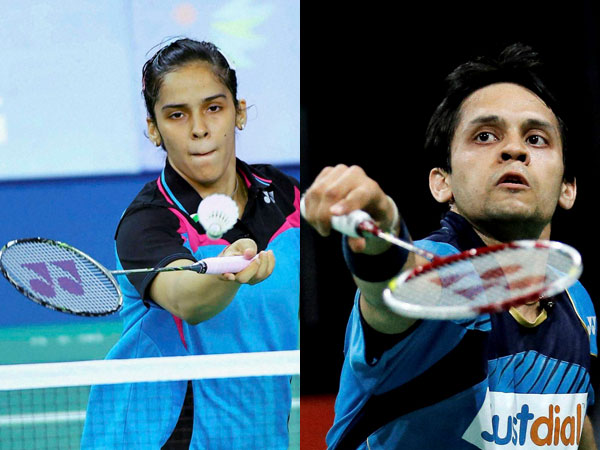 File picture of Saina Nehwal (left) and P Kashyap (right)