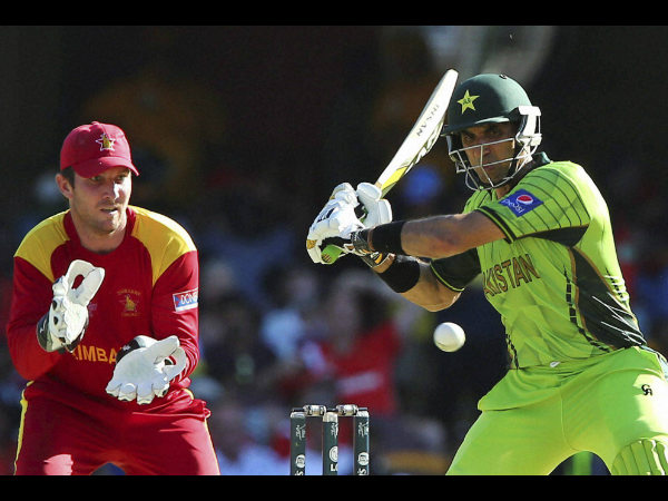 File photo: Misbah plays a shot against Zimbabwe at World Cup