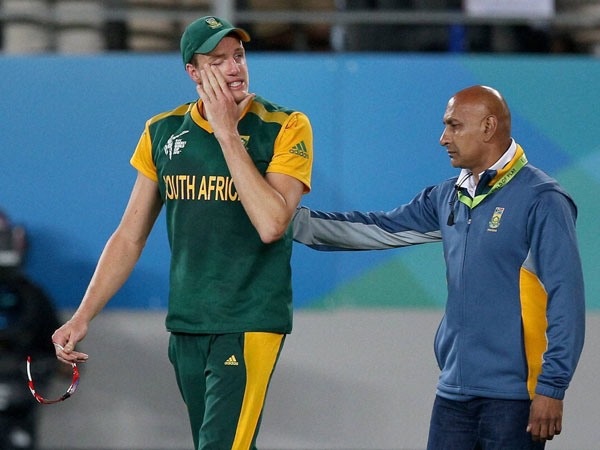 Morkel crying