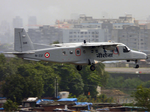 Goa: Navy surveillance aircraft crashes