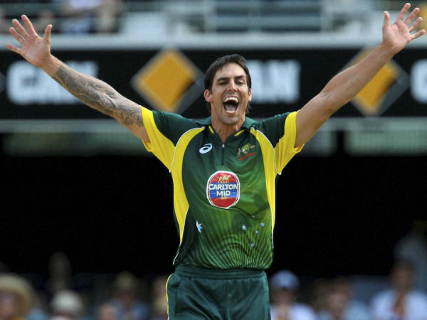 File picture of Mitchell Johnson