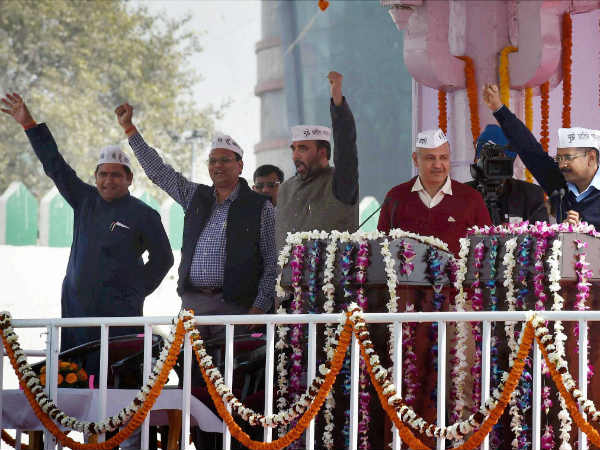 Kejriwal and team
