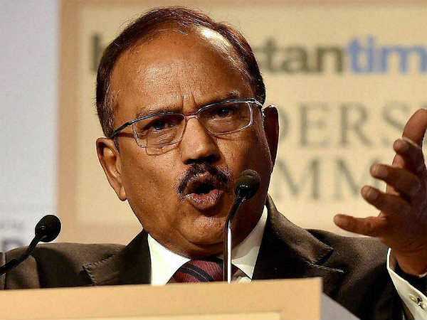 Ajit Doval talks tough on China