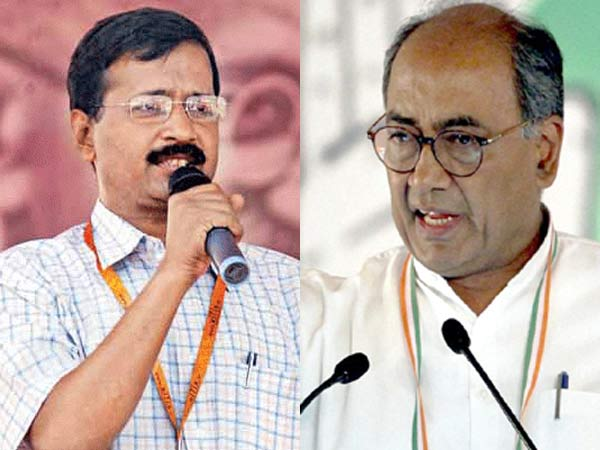 Digvijay Singh hits out at Kejriwal