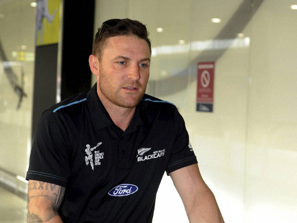 File picture of Brendon McCullum who received Richard Hadlee Medal