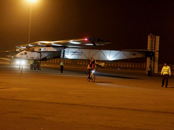 Solar Impulse departs from Myanmar