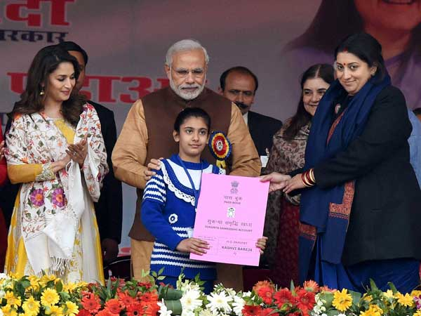 PM Modi at the launch of Beti Bachao, Beti Padhao programme in Haryana