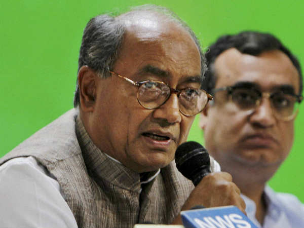 'Let's see', says Digvijay Singh on Rahul taking Congress's command.