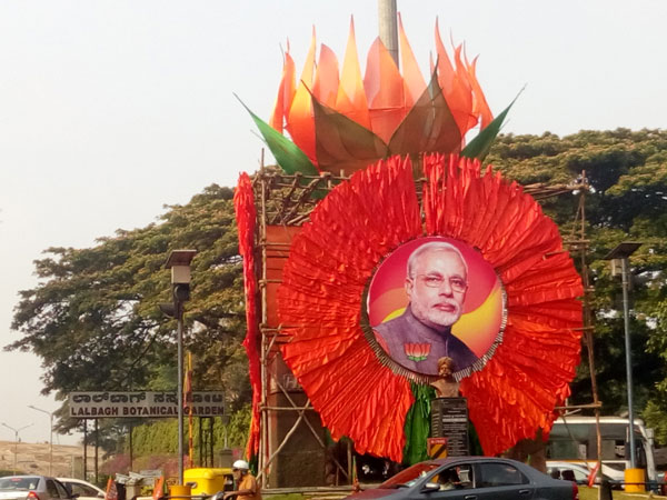 Bengaluru decked up for BJP's national executive meet