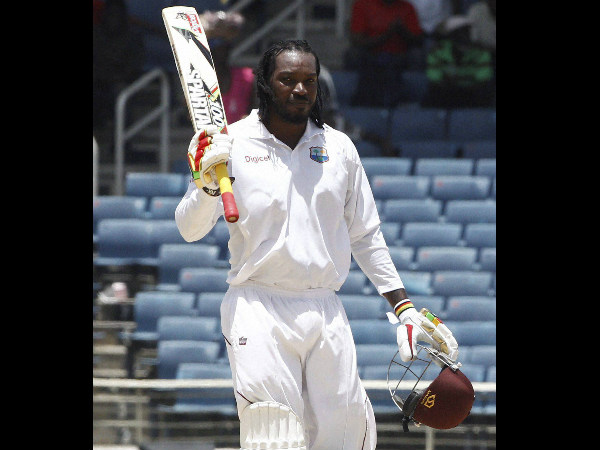 File picture of Chris Gayle
