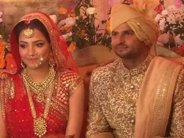 Raina ties the knot with Priyanka