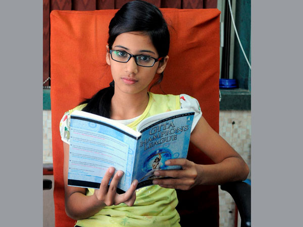 Mumbai: Muslim girl wins Gita contest
