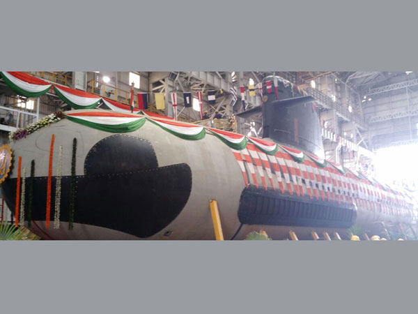 Mum: Float-out ceremony of Scorpene sub