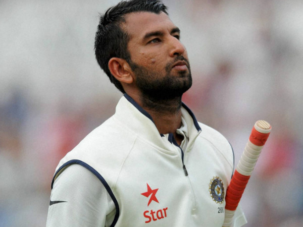 File picture of Cheteshwar Pujara