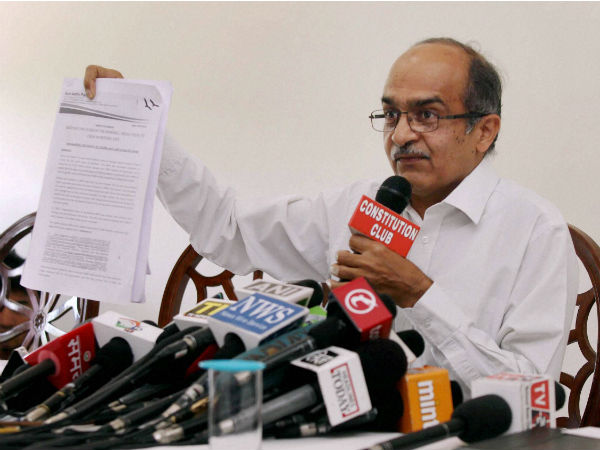 Prashant Bhushan rejects Marlena's claim that Shanti opposed truce.