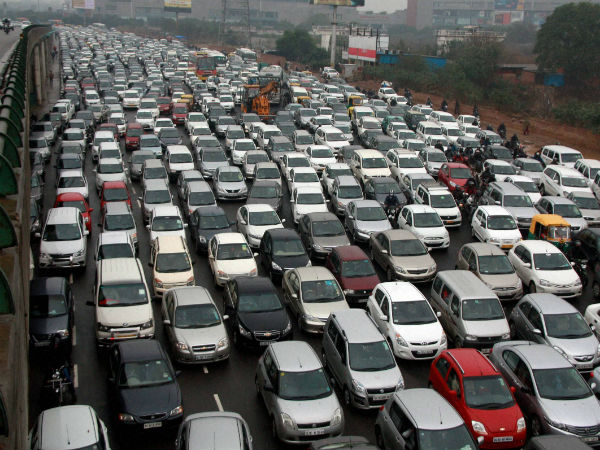 NGT ban: 100 vehicles impounded