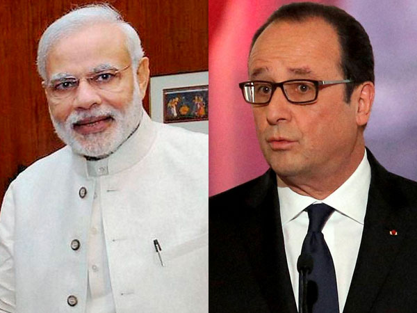 Modi to meet French Prez Hollande