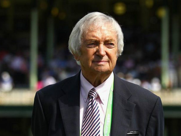 Richie Benaud. Photo from Cricket Australia Twitter page