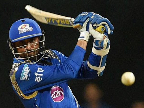 Harbhajan Singh plays a shot during his stunning 24-ball 64