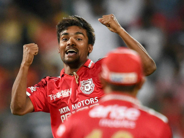 Sandeep Sharma is one of the key players for KXIP