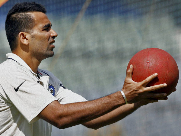 A file picture of Zaheer Khan