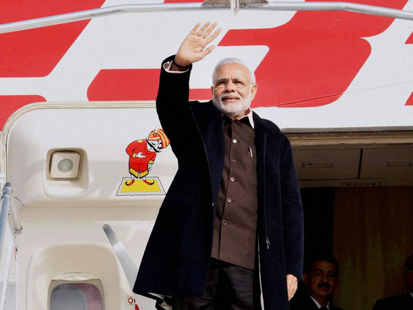 Modi reaches Canada, talks on energy