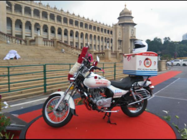 Bike ambulances launched to save lives