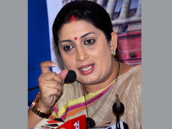 Fabindia voyeurism case: Smriti Irani may be included as witness in chargesheet .