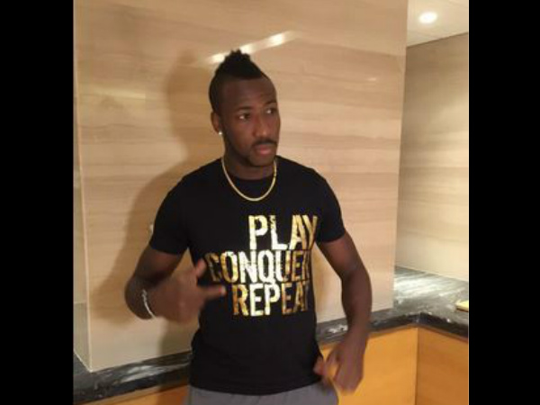 Andre Russell (Photo from KKR's Twitter page)