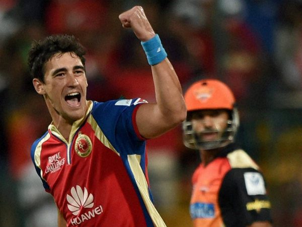 Starc will boost RCB's bowling attack
