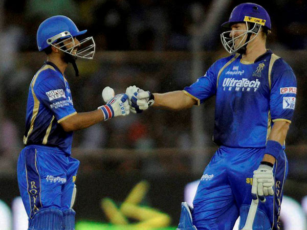 Rahane and Watson's opening partnership will again be key for RR