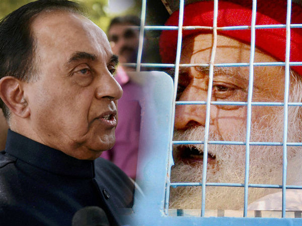 Swamy to fight Asaram Bapu's case