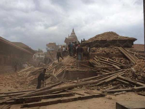 Nepal quake destroys heritage sites