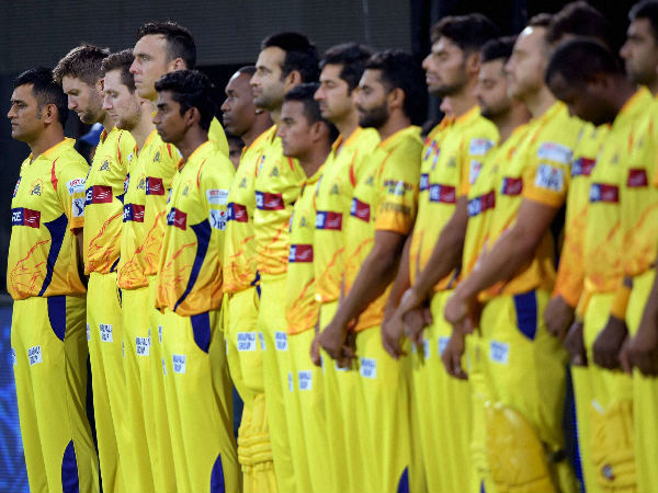 CSK players offer tributes to earthquake victims of India and Nepal