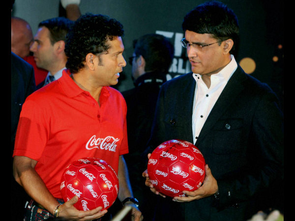 File photo: Ganguly (right) and Tendulkar