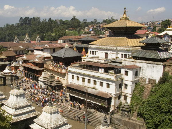 Pashupatinath Temple unharmed in Nepal's devastating quake.
