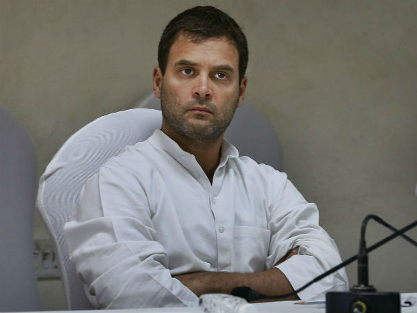 Rahul's swipe at PM Modi's foreign trips