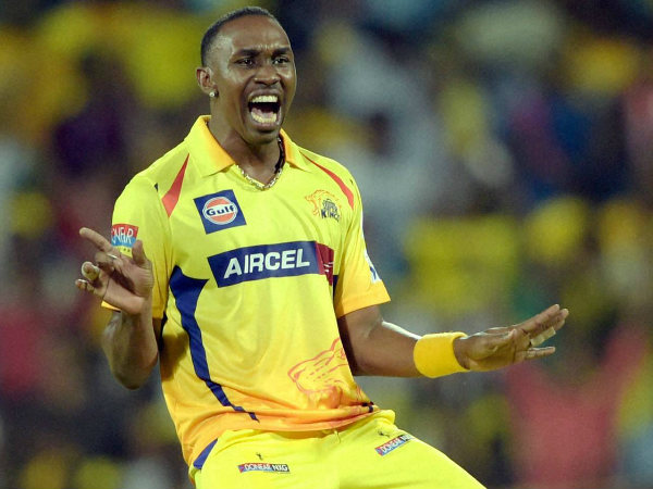 CSK's Dwayne Bravo is the leading wicket-taker in IPL 2015 with 19 scalps