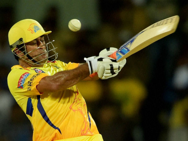 Chennai Super Kings captain MS Dhoni in action against Delhi Daredevils at IPL 2015