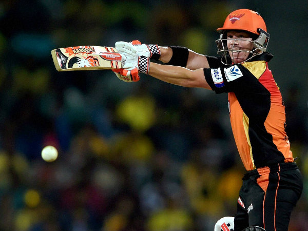 SRH captain David Warner