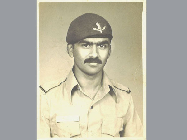 Pilot Officer HB Rajaram soon after commissioning