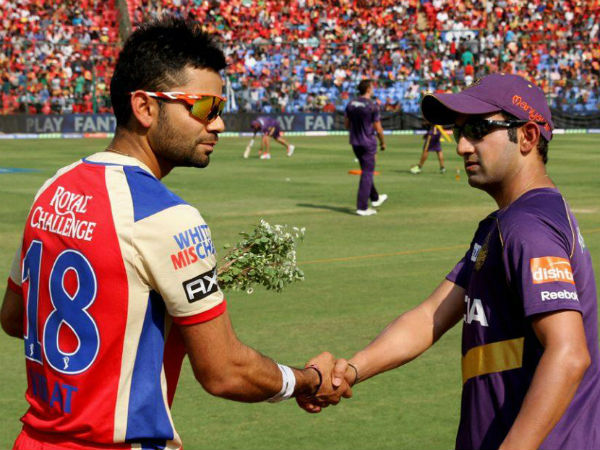 Rain delays play between RCB and KKR