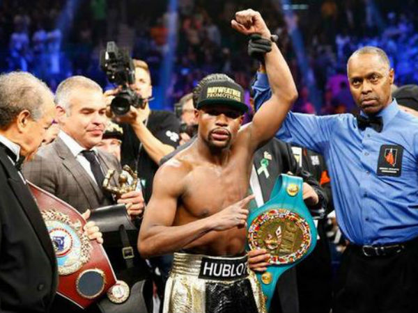 Mayweather beats Pacauiao: Twitter reacts
