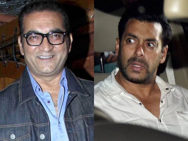 Salman Khan and singer Abhijeet