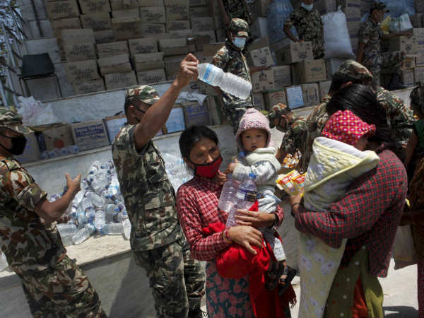'Indian relief materials substandard'