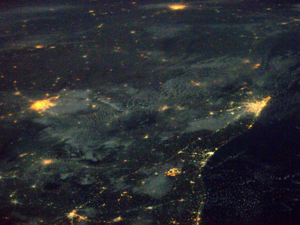 A view of India from space